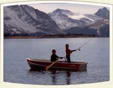Fishing at Amethyst Lake